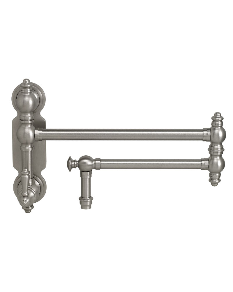 waterstone faucets traditional wall mounted pot filler lever handle