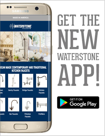 Waterstone Faucets mobile app