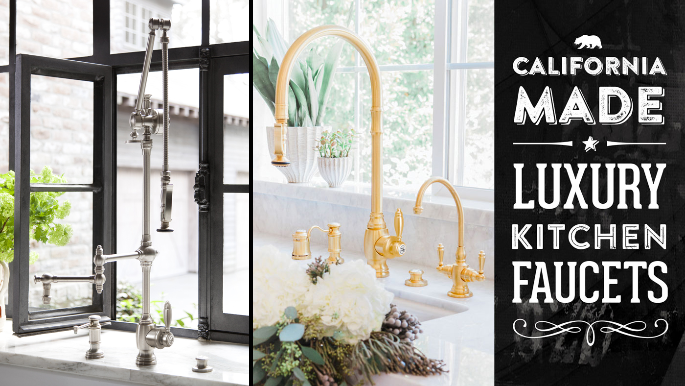 Waterstone High End Luxury Kitchen Faucets Made In The Usa in Made In Usa Kitchen Faucets